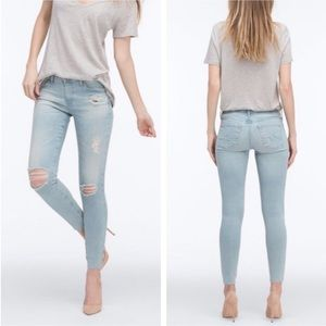 NWT AG The legging Ankle Skinny In Anchor Home 26